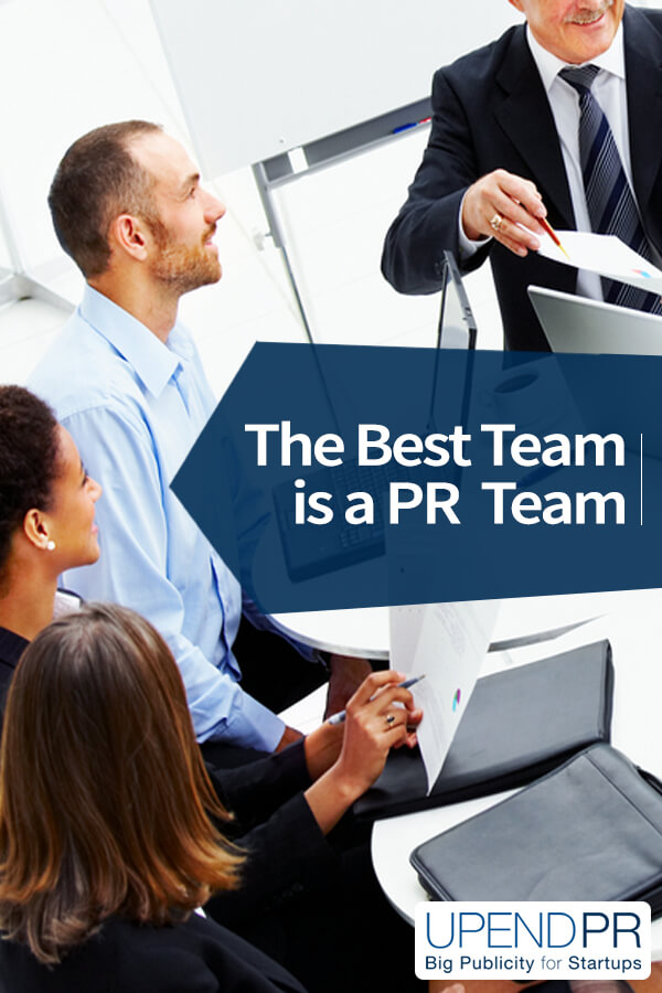 The best team is a PR agency team for digital entrepreneur