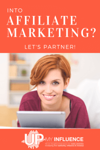 Into Affiliate Marketing?