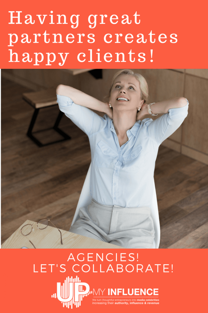 Having great partners creates happy clients!